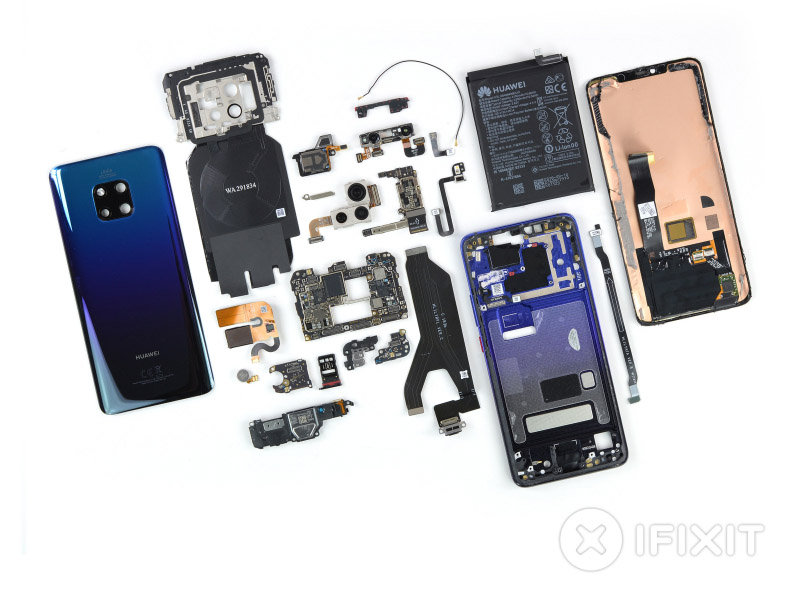 Huawei Mate 20 Pro Android Pie iFixit 9 Huawei P30 smartphone Android smartphones