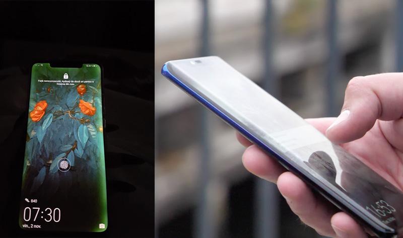 Alguns Huawei Mate 20 Pro estão com problemas no ecrã curvo