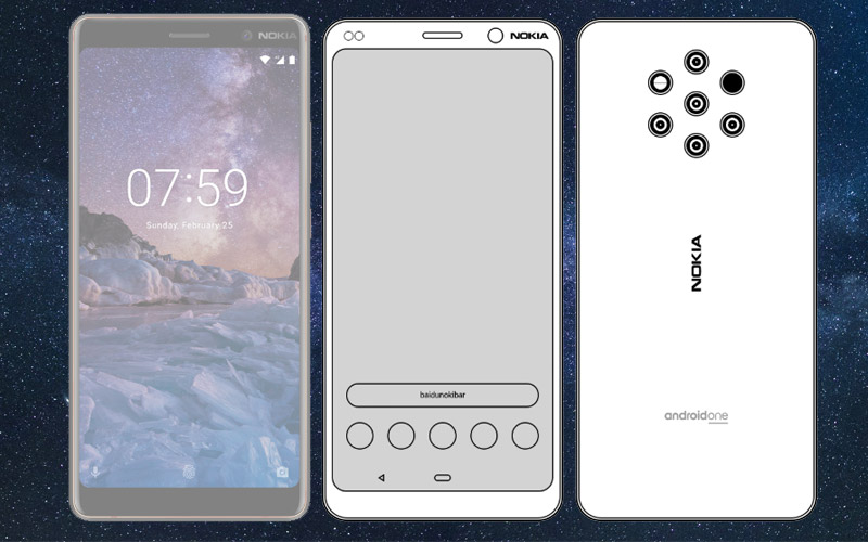 Nokia 9 Pure View Android One