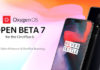 OnePlus 6 OxygenOS Open Beta 7 Android Pie oficial