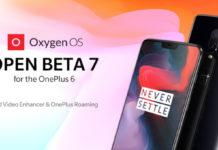 OnePlus 6 OxygenOS Open Beta 7 Android Pie oficial
