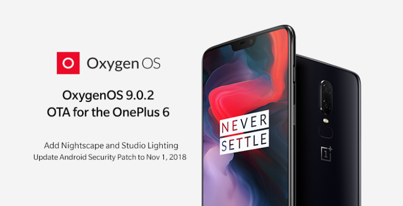 Android OnePlus 6 OxygenOs 9.0.2