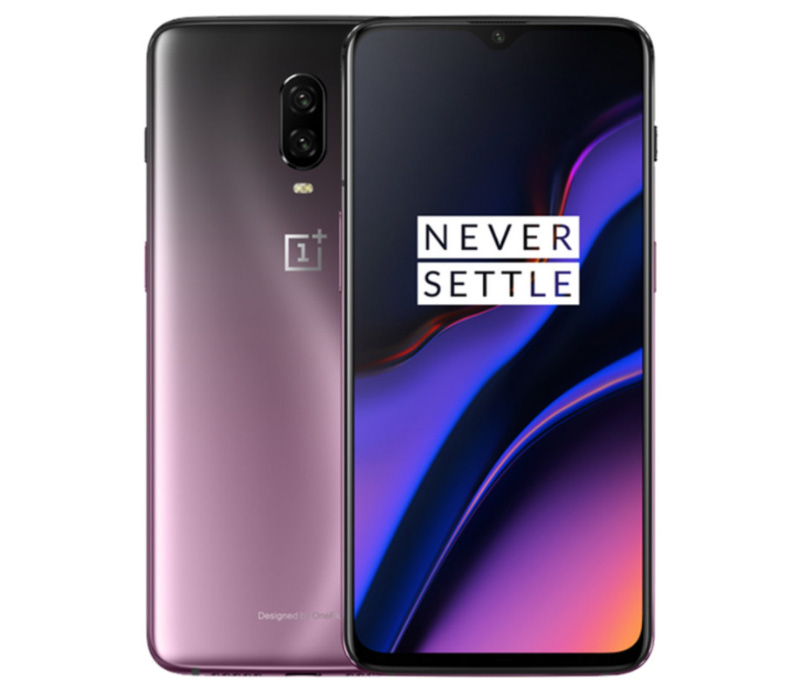 OnePlus 6T Android Pie smartphone OxygenOS