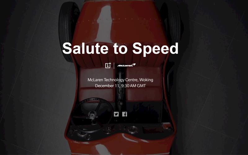 OnePlus 6T McLaren smartphone