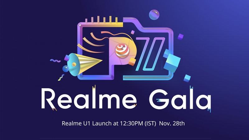 Realme U1 Gala Android Xiaomi