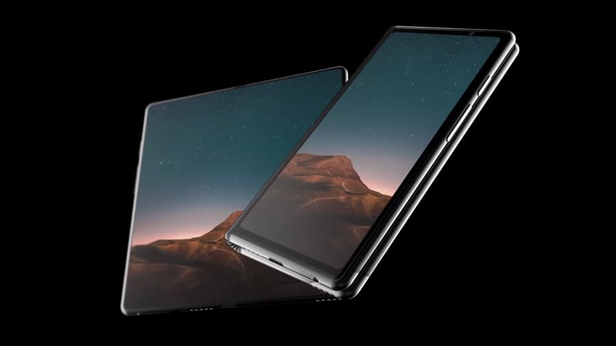 Samsung Smartphone dobrável patentes