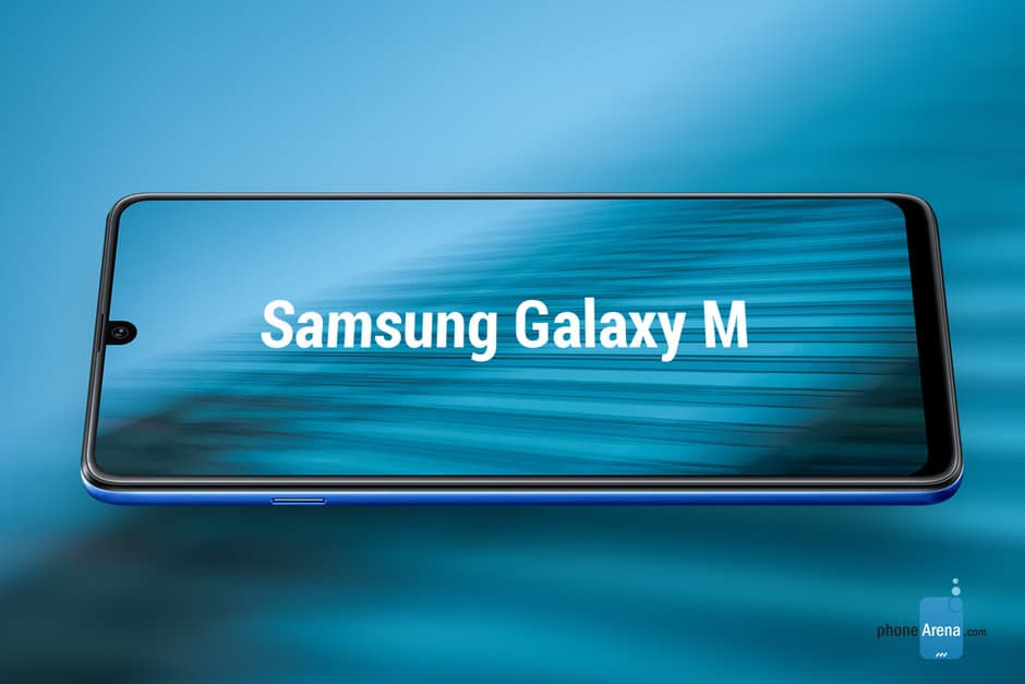 Samsung GAlaxy M20 conceito smartphone Android