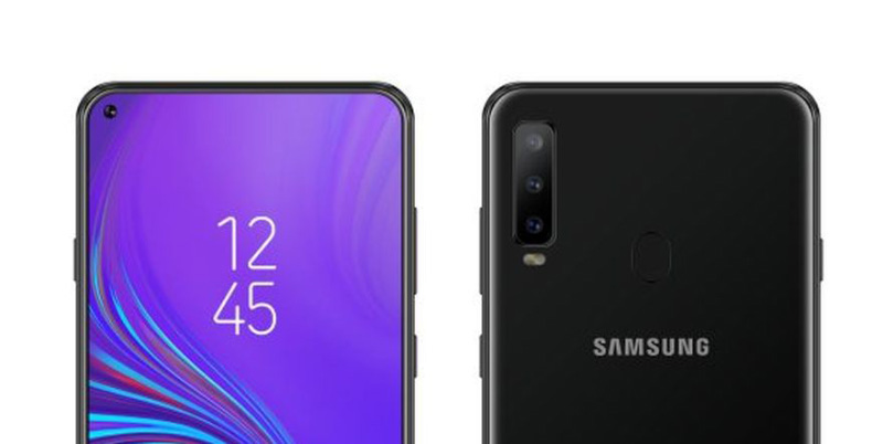 Samsung Galaxy A50 smartphone Android