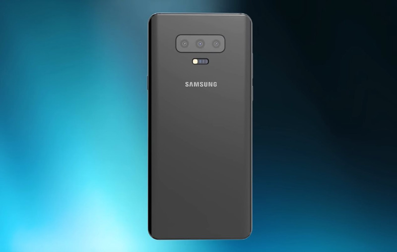 Samsung Galaxy S10 Android smartphone