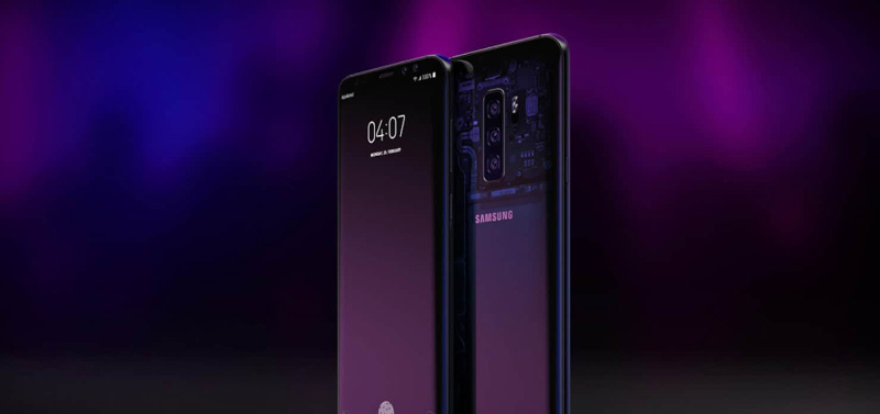 Samsung Galaxy S10 smartphone Android
