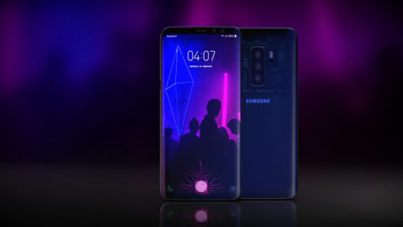 Samsung Galaxy S10 smartphones Android gama-média