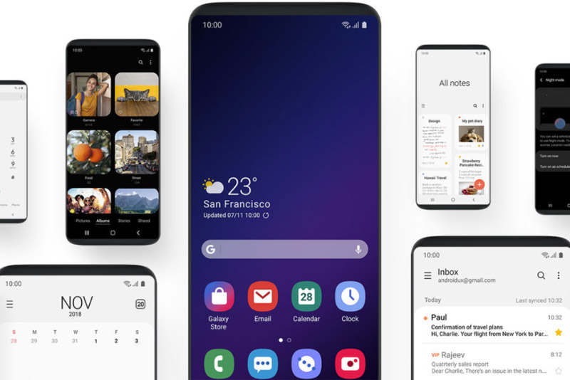 Samsung Galaxy S9 Android Pie One UI oficial