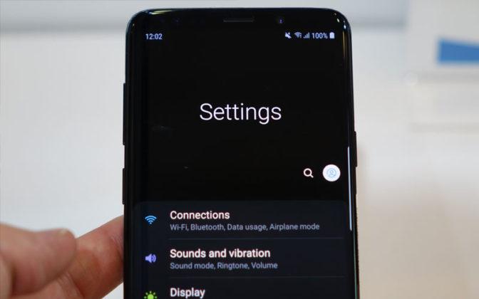 Samsung Galaxy Dark Mode