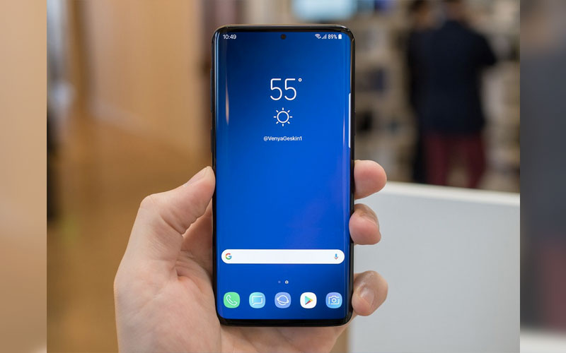 leak design Samsung Galaxy S10 painel frontal Huawei Mate 20 Pro