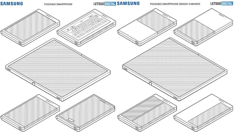 Samsung Smartphone dobravel patentes