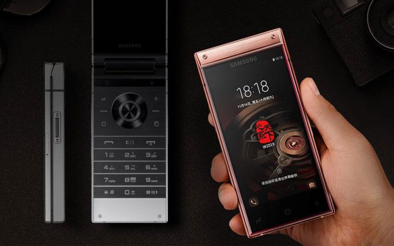 Samsung W2019 entrada áudio