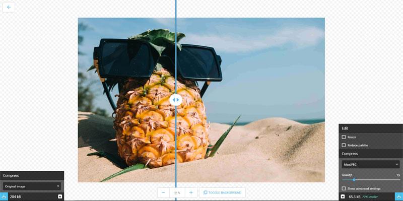 Google Squoosh web-designers website