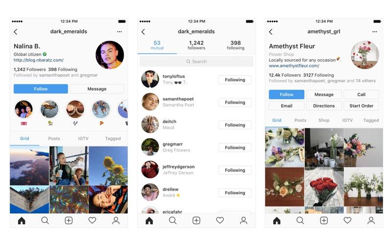 Instagram Rede Social Perfil