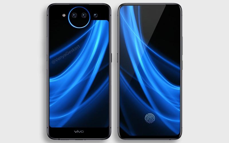 Vivo NEX 2 smartphone mistério dois ecrãs design