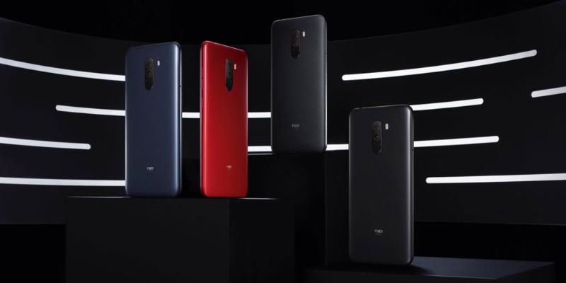 Xiaomi Pocophone F1 Android Pie MIUI 10