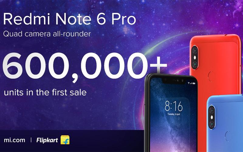 Xiaomi Redmi Note 6 Pro esgotou