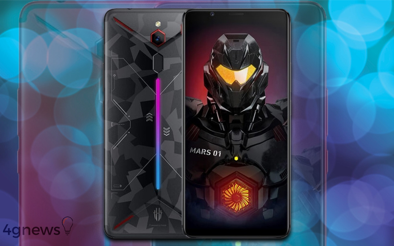 ZTE Nubia Red Magic Mars smartphone gaming
