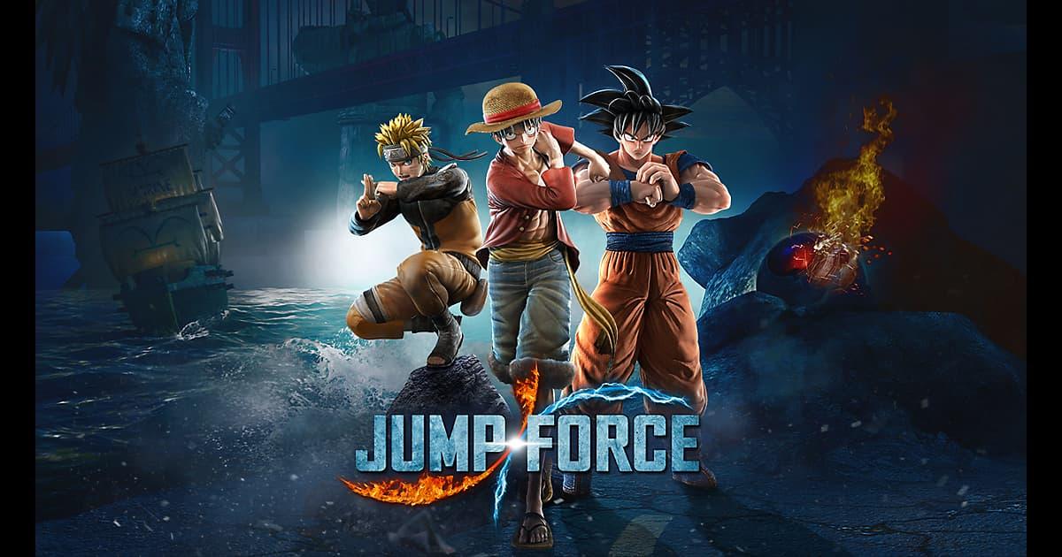 Jump Force - Goku, Naruto e um resumo de todas as novidades