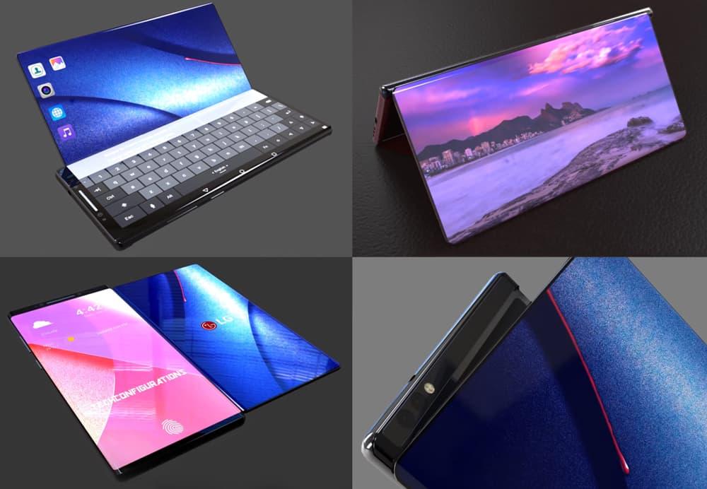 Android. Patente da LG revela smartphone dobrável que vais querer ter
