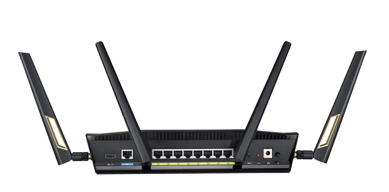 ASUS RT-AX88U Router traseira