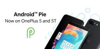 Android Pie OxygenOS OnePlus 5 OnePlus 5T