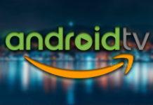 Android TV aplicação Amazon Music