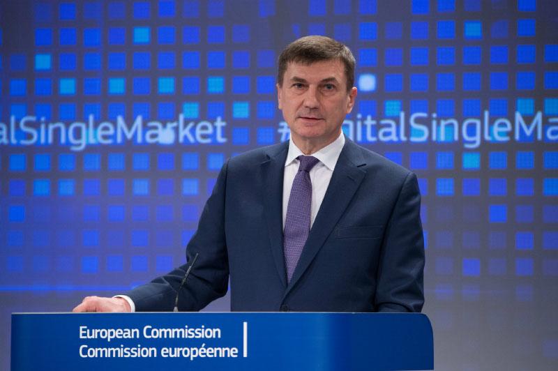 Angus Ansip Comissão Europeia Huawei