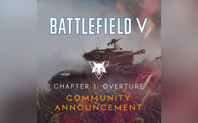Battlefield V atualização adiada DICE