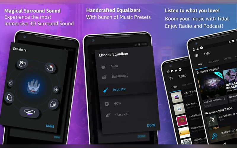 Boom Reprodutor de música Google Play Store android