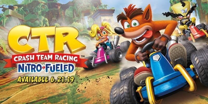 Crash Team Racing remasterizado é oficialmente apresentado!