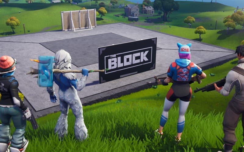 Epic Games Fortnite The Box Galeria de arte