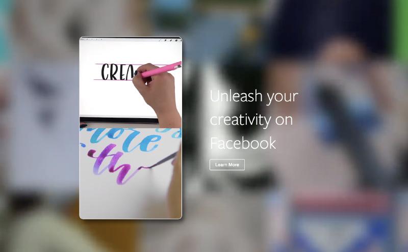 Facebook site Inspiration