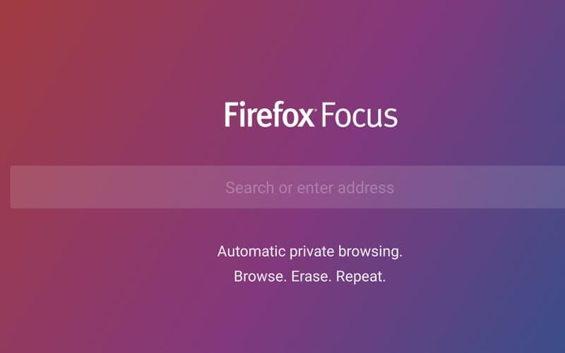 Firefox Focus browser