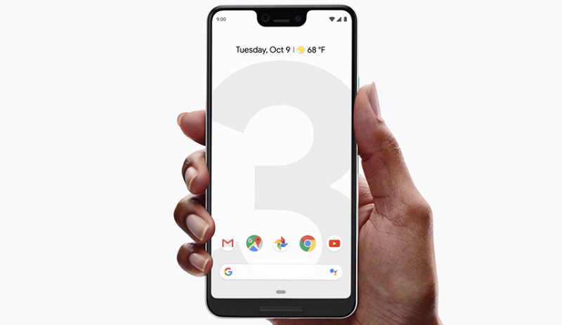 Google Pixel 3 XL Android Pie smartphone