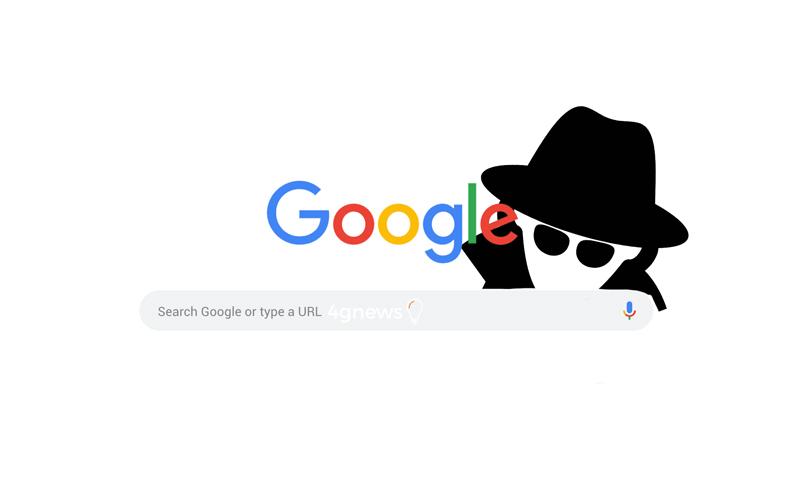 Pesquisa Google em anónimo não é verdadeiramente anónimo
