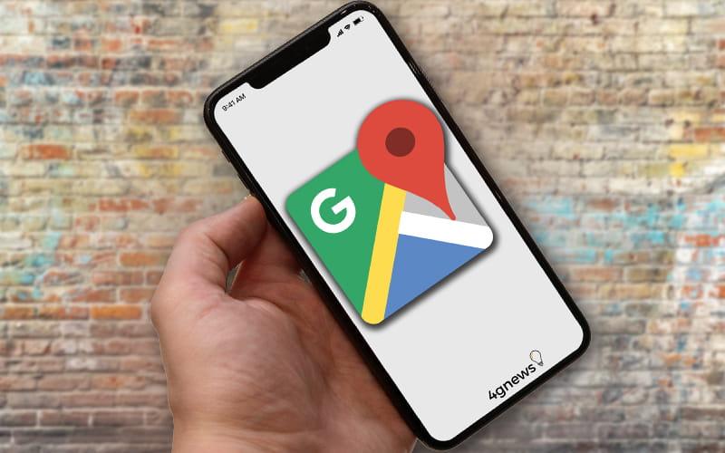 Google Maps iOS Android aplicação