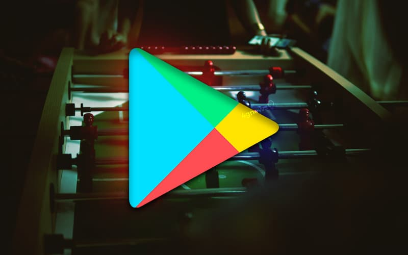 Google Play Store Futebol Android smartphone