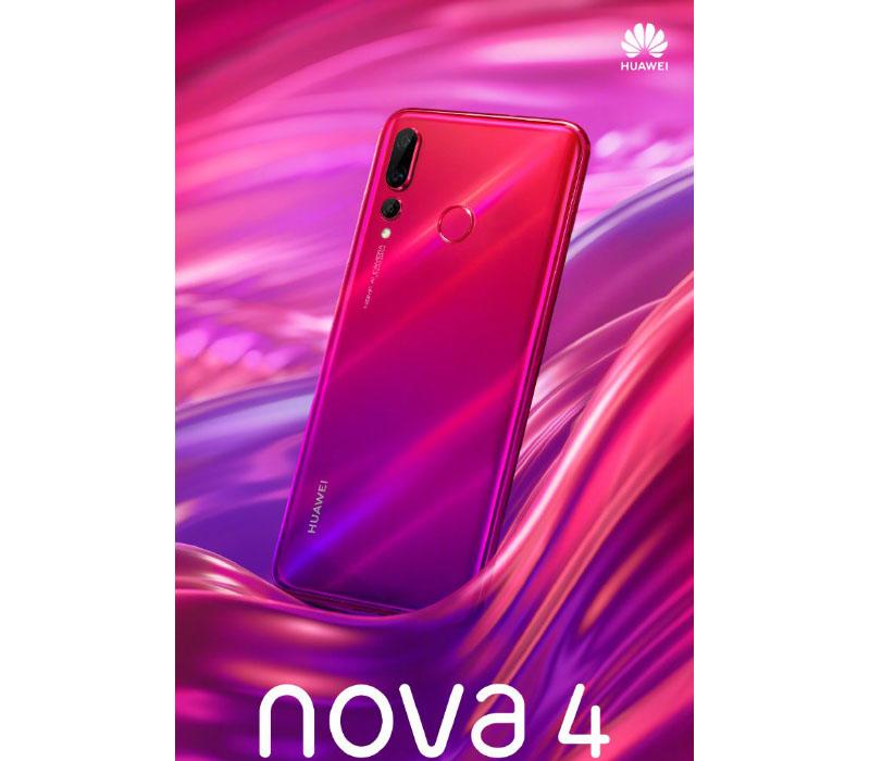 Huawei Nova 4 smartphone Android 1
