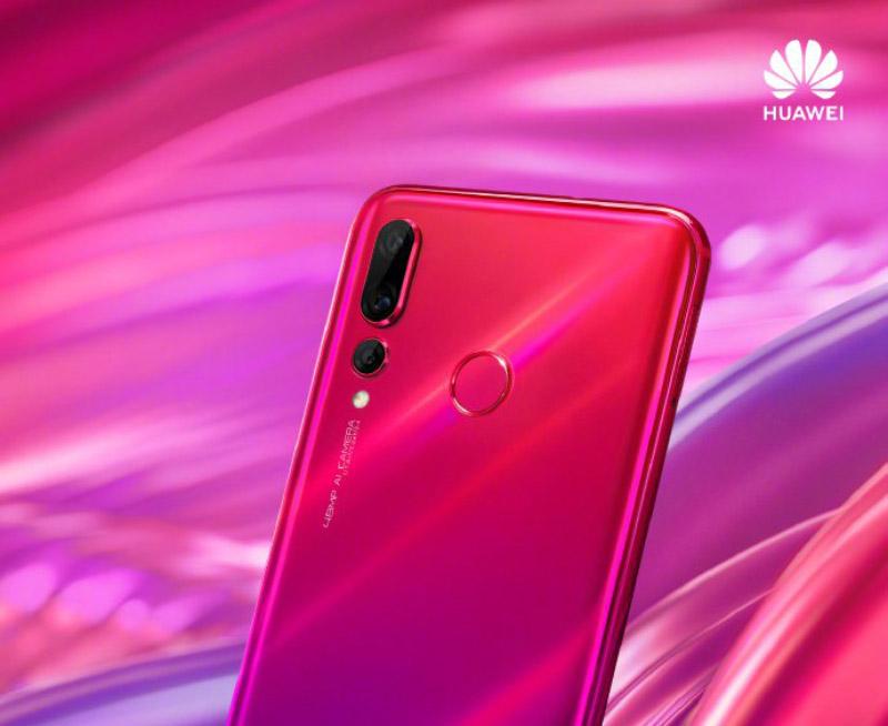 Huawei Nova 4 smartphone Android