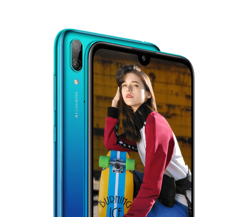 Huawei Y7 2019 smartphone Android Pie 1