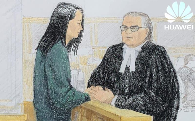 Herdeira da Huawei fiança canadá prisão estados unidos