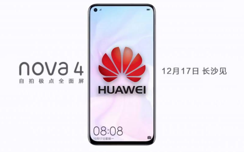 Huawei Nova 4 Samsung Galaxy A8S