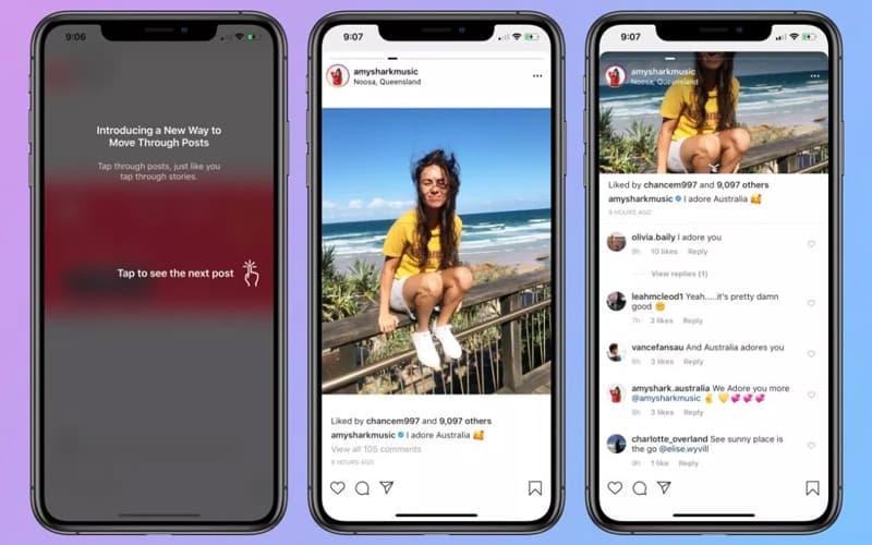 Instagram atualização polémica