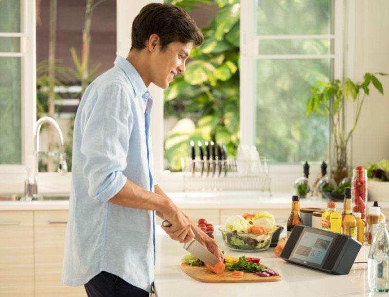 LG Smart Kitchen CES 2019 Android cozinha inteligente
