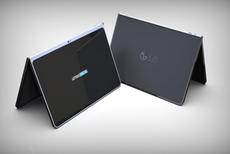 LG tablet dobrável smartphone dobrável Android